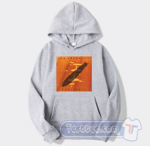 Cheap Led Zeppelin Remasters Album Hoodie