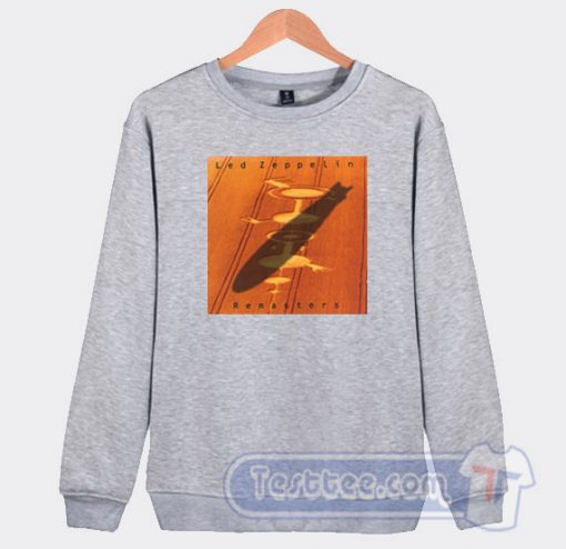 Cheap Led Zeppelin Remasters Album Sweatshirt