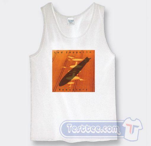 Cheap Led Zeppelin Remasters Album Tank Top