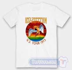 Vintage Led Zeppelin US Tour 1975 Tees