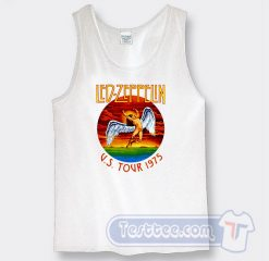 Vintage Led Zeppelin US Tour 1975 Tank Top