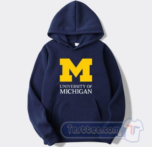 University of Michigan Logo Hoodie