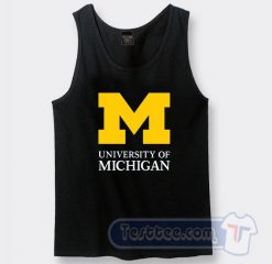 University of Michigan Logo Tank Top