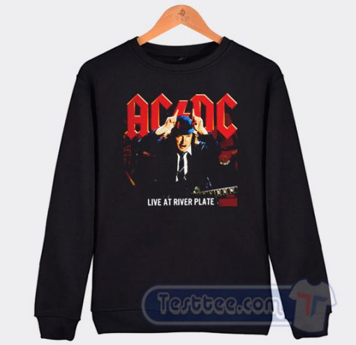 Cheap Acdc Live At River Plate Album Sweatshirt