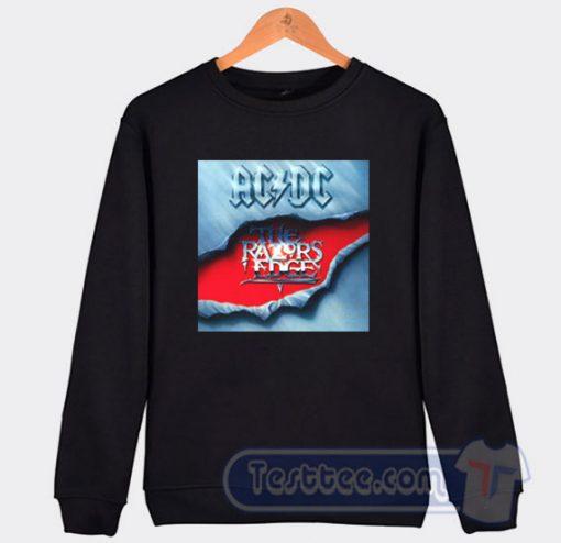 Cheap Acdc The Razors Edge Album Sweatshirt