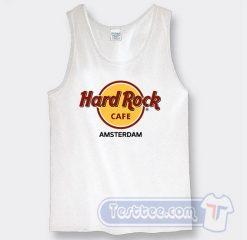 Cheap Hard Rock Cafe Amsterdam Tank Top