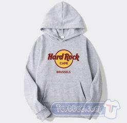 Cheap Hard Rock Cafe Brussels Hoodie
