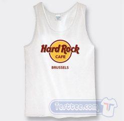 Cheap Hard Rock Cafe Brussels Tank Top