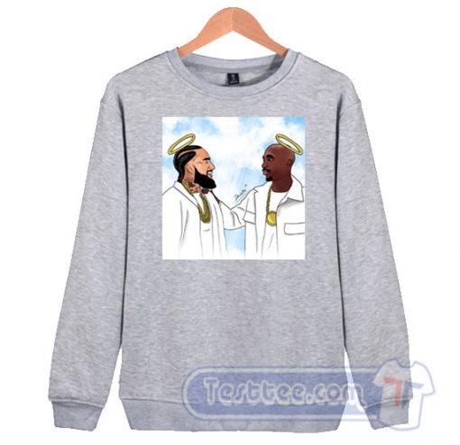 Legend Never Die Nipsey Hussle Tupac Sakur Sweatshirt