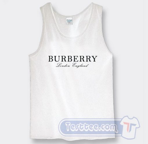 Cheap Burberry England Tank Top On Sale