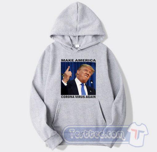 Cheap Donald Trump Corona Virus Hoodie