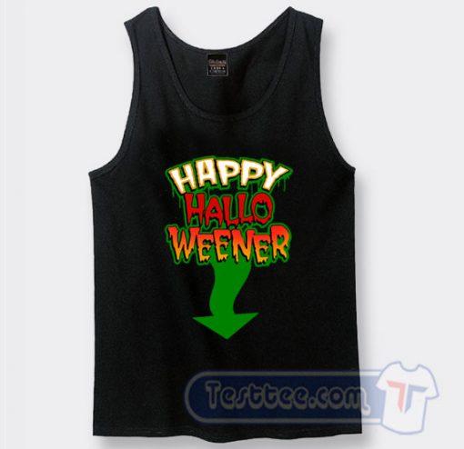 Cheap Happy Halloweener Hubie Halloween Tank Top