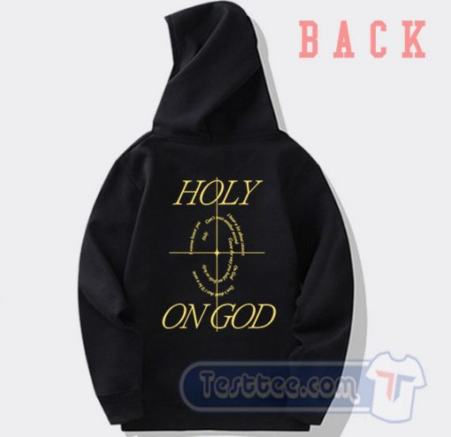 Cheap Holy on GOD Justin Bieber Song Hoodie