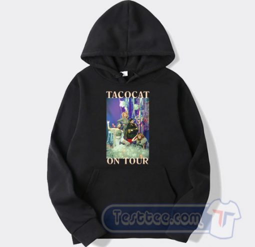 Cheap The Crofood On Tour Tacocat Band Hoodie