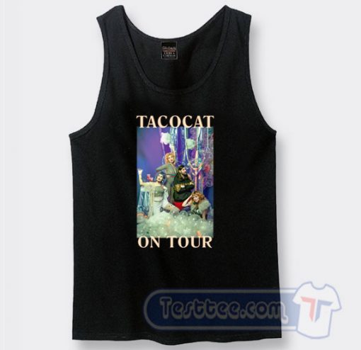 Cheap The Crofood On Tour Tacocat Band Tank Top