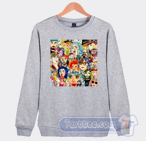 Cheap This Mess Is a Place Tacocat Band Sweatshirt