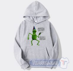 Cheap Yer a Wizard Kermit The Frog Hoodie
