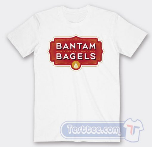 Cheap Bantam Bagels Logo Tees