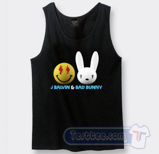 J Balwin and Bad Bunny Emoji Tank Top