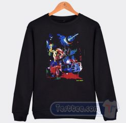 Vlone 999 Galaxy Cosmic X Juice Wrld Sweatshirt
