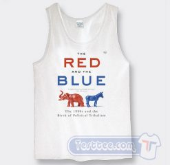 The Red And The Blue Political by Steve Kornacki Tank Top
