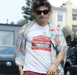 Wrigley Field Chicago Cubs Cubbles Harry Styles Tee