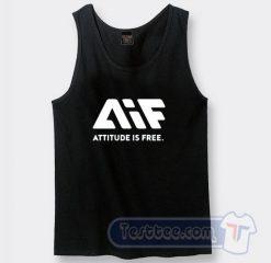 AIF Attitude is Free Tank Top