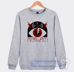 Vintage Pearl Jam Lightning Bolt Album Sweatshirt