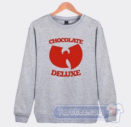 Wu Tang Ice Cream Sweatshirt Chocolate Deluxe