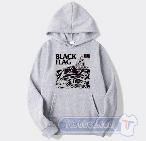 Black Flag Vintage Six Pack Hoodie