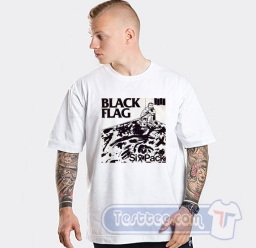 Black Flag Vintage Six Pack Tees