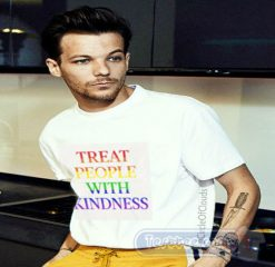Louis Tomlinson Treat People With Kindness Tees
