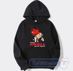 Cheap Whoopi Goldberg Trump Make America Great Again Hoodie