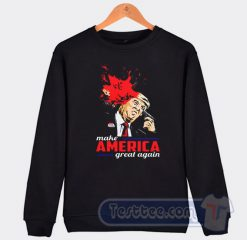 Cheap Whoopi Goldberg Trump Make America Great Again Sweatshirt