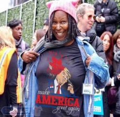 Cheap Whoopi Goldberg Trump Make America Great Again Tees