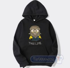 Cheap Whoopi Goldberg Minion Thug Life Hoodie