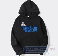 Cheap Arctic Monkeys Fluorescent Adolescent Hoodie