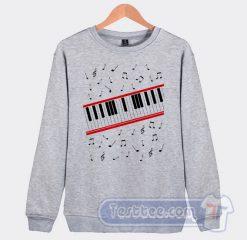 Cheap Michael Jackson Beat It Piano Sweatshirt