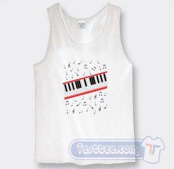 Cheap Michael Jackson Beat It Piano Tank Top