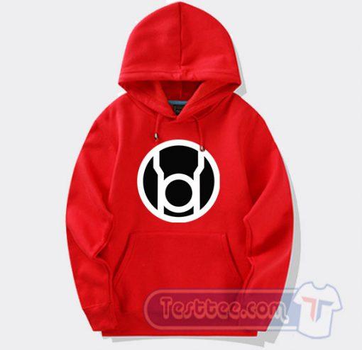 Cheap Red Lantern Hoodie