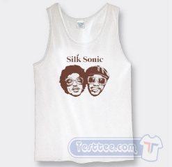 Cheap Silk Sonic Bruno Mars Tank Top
