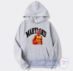 Cheap Len Bias Maryland 34 Hoodie