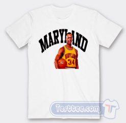 Cheap Len Bias Maryland 34 Tees